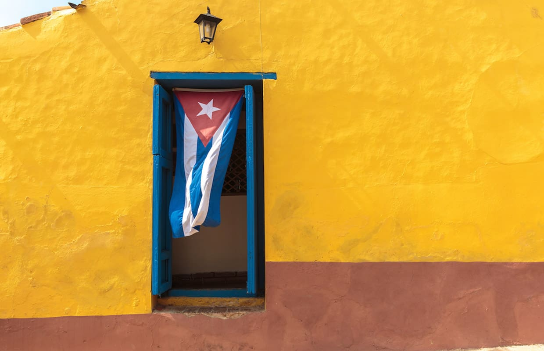 Flag in Cuba