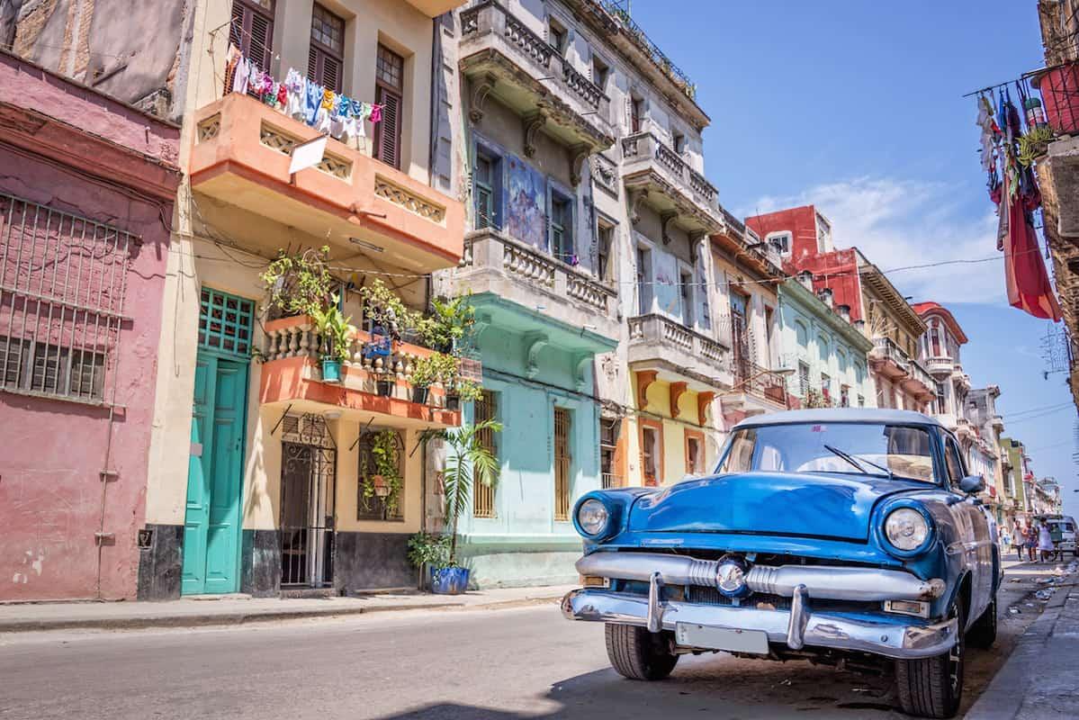 Cuba photography, street scene