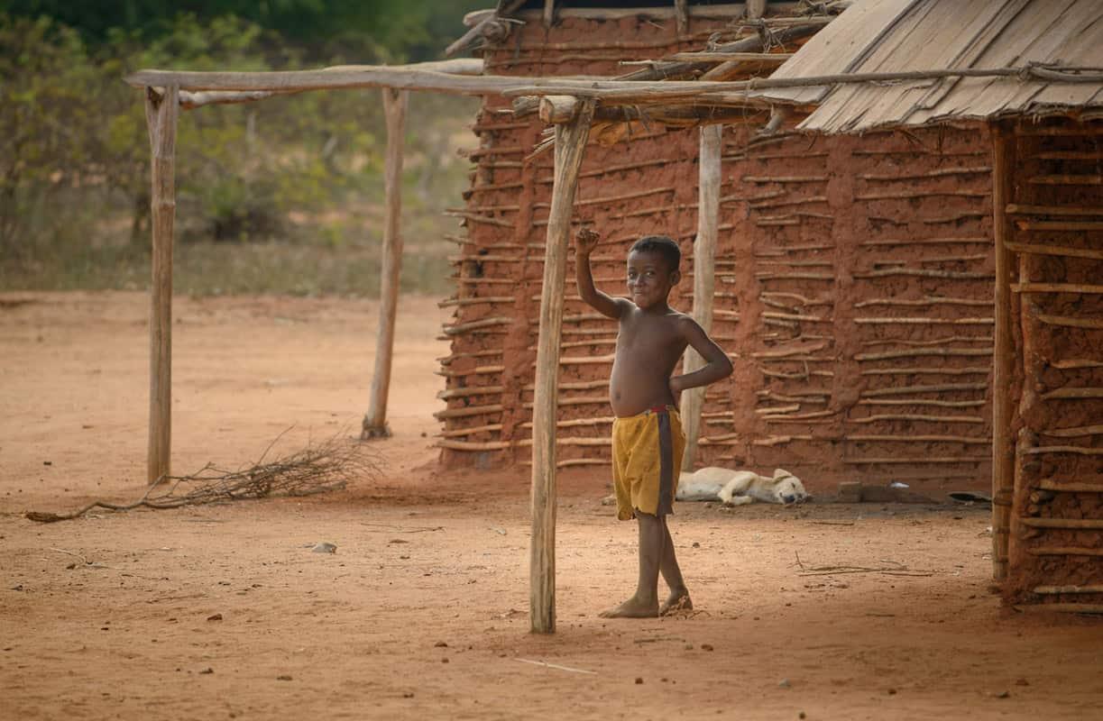 unique Madagascar portrait