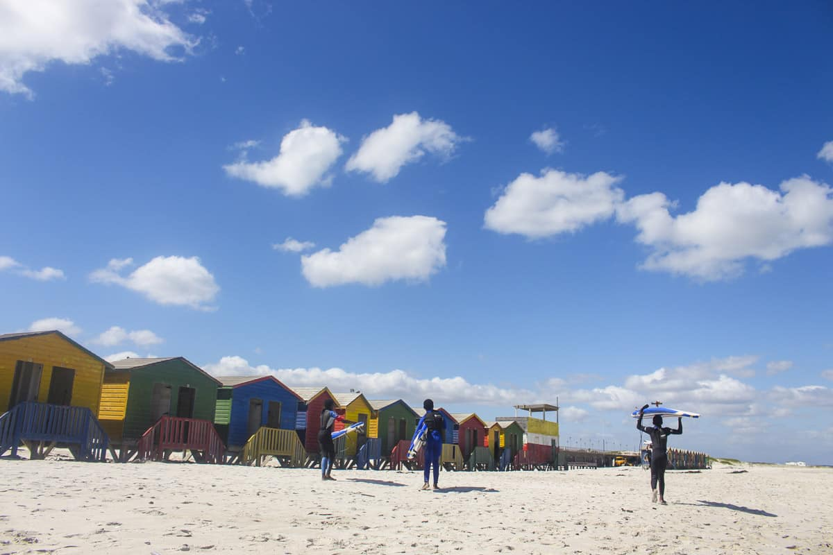 colby Ibali Photo Collective colourful houses on the beach