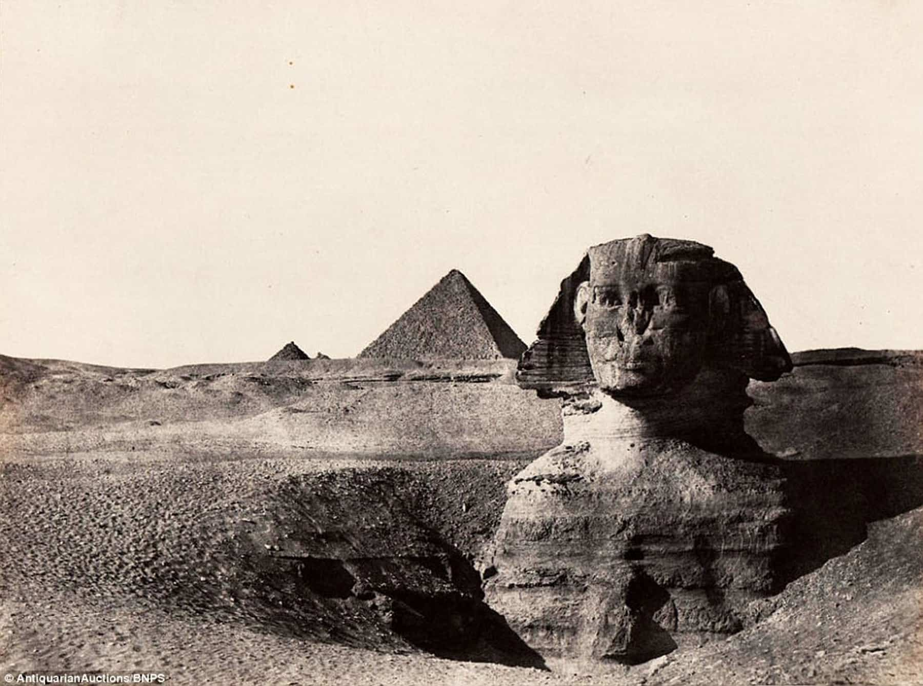 sphinx - The History of Travel Photography