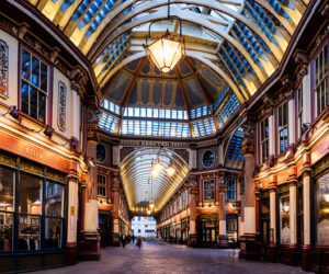 Leadenhall Market, London, England, UK
